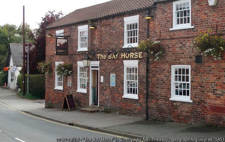 The Bay Horse Pub in Cherry Burton